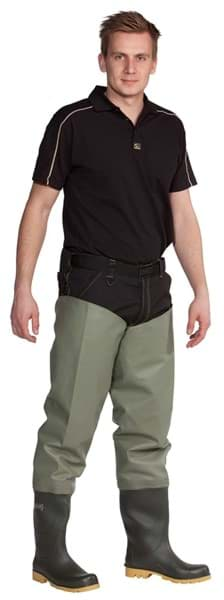 Picture of OCEAN Thigh Waders Classic | olive green