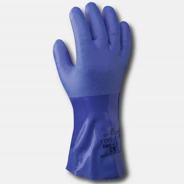 Picture of SHOWA 660 gloves | blue