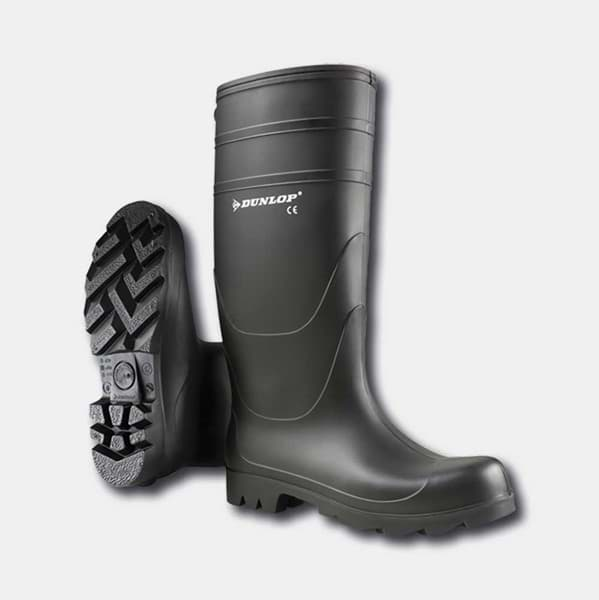 Picture of Dunlop rubber boots | black