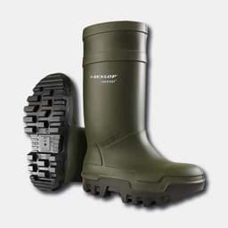 Picture of Dunlop Purofort Thermo+ S5 safety boots | olive green