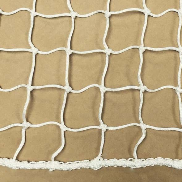 Picture of Railing Net | mesh size (hm) 45mm | Polyester (PES) twine 2mm Ø | hem 4mm Ø | white