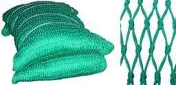 Picture of Netting | 105mm - 107mm mesh opening | super polyethylene (PE) | braided twine | green