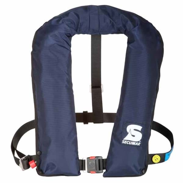 Picture of Life vest SECUMAR GOLF 275F, approved by German authorities and coast guard SeeBG and BSBG