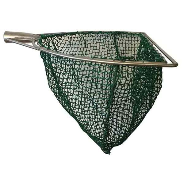 Photo de Epuisette | prêt-à-pêcher | forme en D | largeur 60cm | maille 20mm