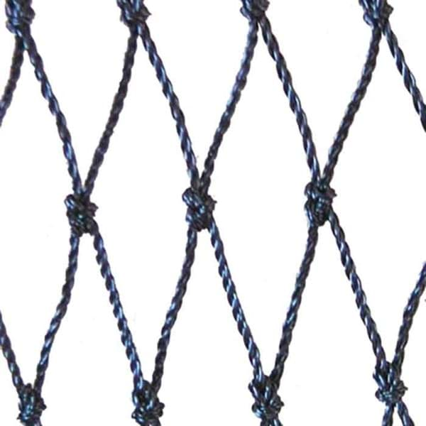 Picture of Netting | 20mm mesh size (HM) | polyethylene (PE) | length 2000 meshes x depth 99,5 meshes | black