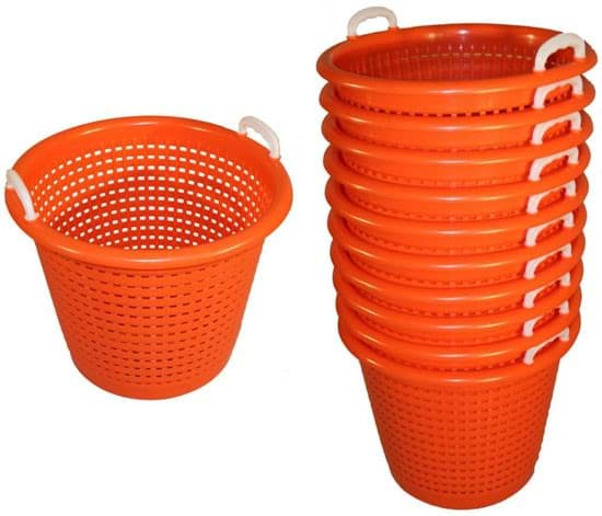 Picture of Fish basket 44 liters | orange