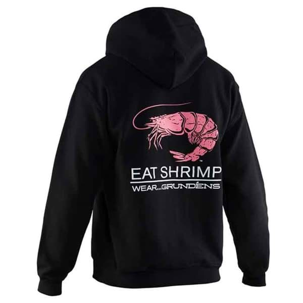 "Picture of Grundens Hoodie ""Eat Shrimp"""