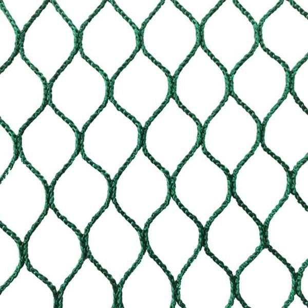 Picture of Polyester Netting | 10mm mesh size | knotless | depth 174 meshes | green
