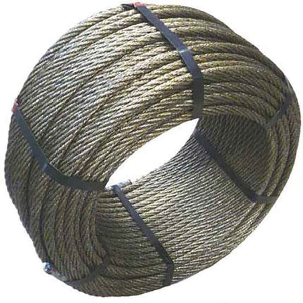 Picture of Steel Wire Rope (Trawl Warp) | 9mm diameter | construction 6x7+fibre core | available by the meter