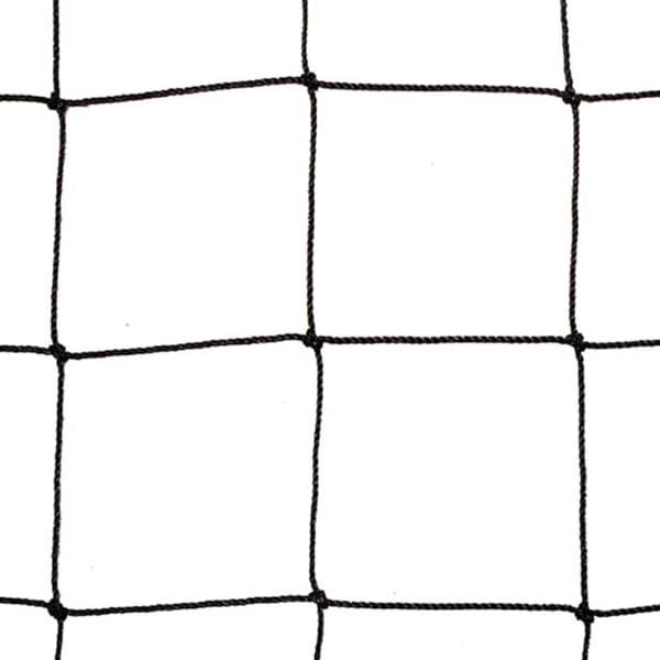 Picture of Polyethylene (PE) netting | black | 100mm mesh size (HM) | twine no. T120 (1,2mm Ø) | width 10m