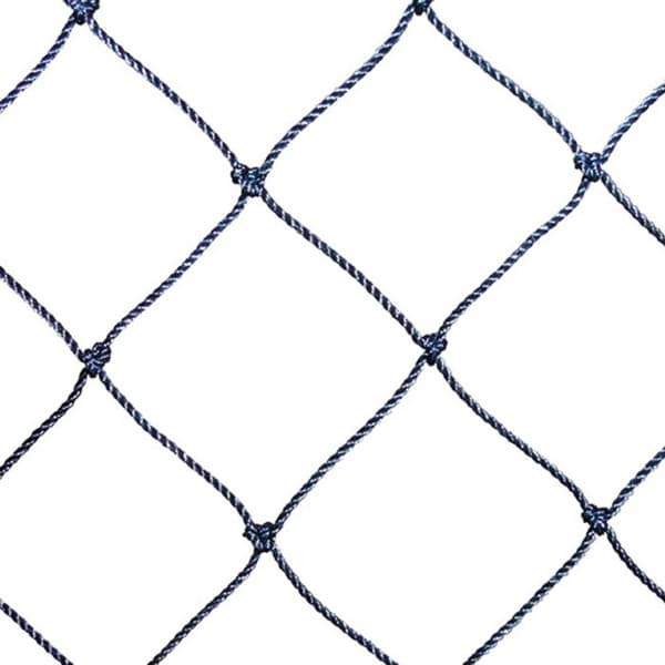 Picture of Polyethylene (PE) netting | black | 125mm mesh size (HM) | twine no. T120 (1,2mm Ø) | width 17m