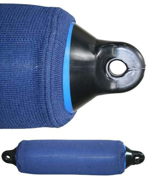 Picture of Cover of polyester fabric for fender no. 623, 15 cm diameter x 58,5 cm length, navy blue