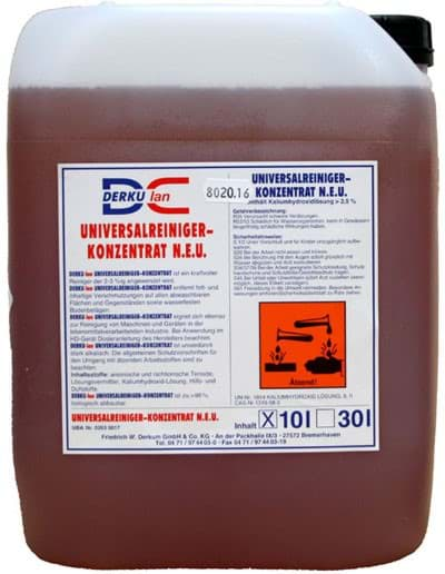 Picture of Universal cleaning agent | for the fish and food processing industry | 10 liters