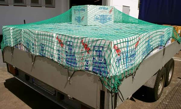 Picture of Trailer net & container net | 2,00mx3,50m | 45mm mesh | polypropylene (PP) twine 3,0mm Ø