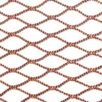 Picture for category Polyester (PES) Netting | knotless | brown | for fykes