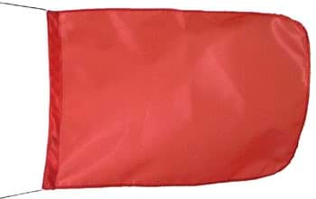 Picture of Buoy flag | 35cm x 50cm | red colour