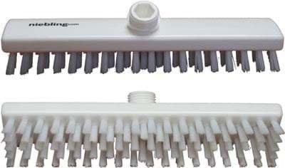 Picture of Scrubbing brush 30cm x 6cm | stiff-bristled | white