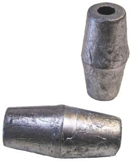 Picture of Lead sinker | 100g per piece | 8mm center hole