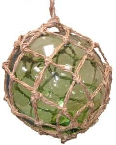 Picture of Glass float | 150mm diameter | green