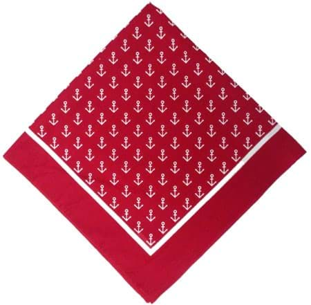 "Picture of Fishermen's scarf ""anchor"" 